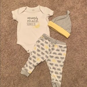 Main Squeeze outfit 6 month